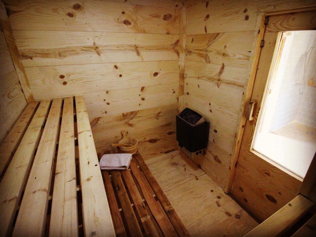 Sauna / chaud froid revivifiant