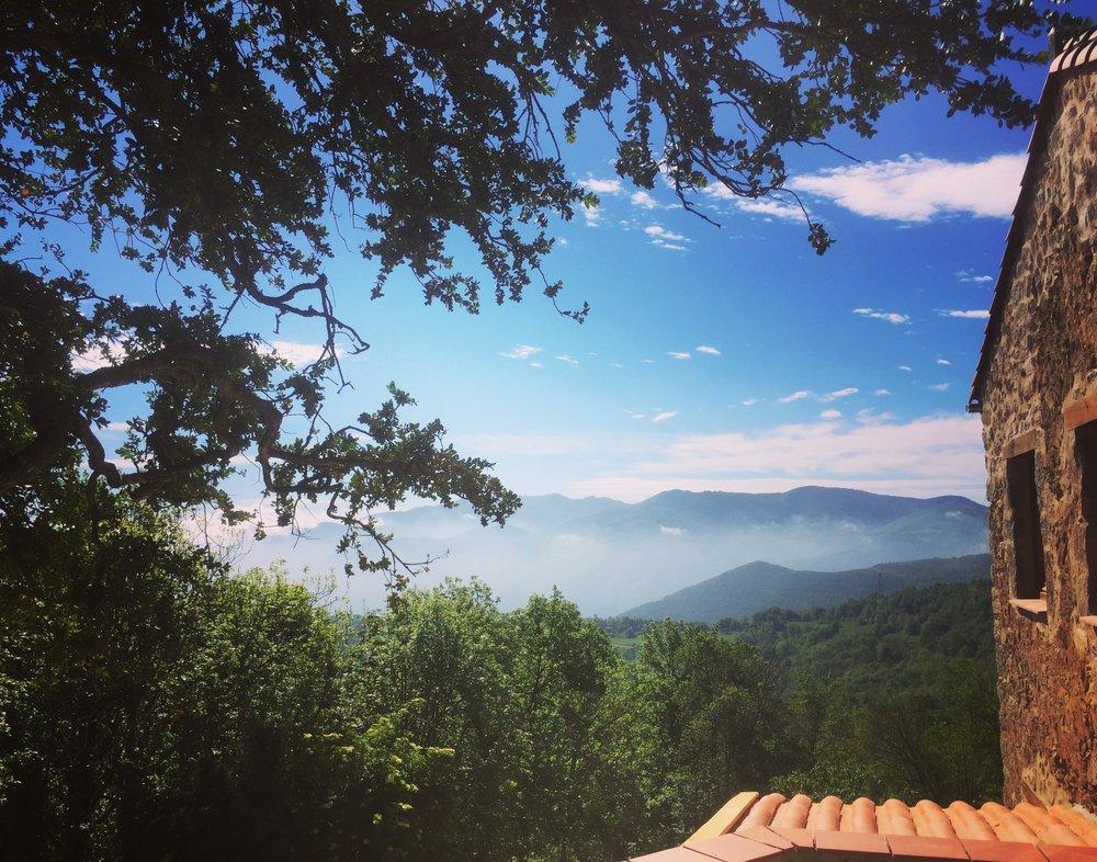 Séjour à Corsavy, la beauté du paysage