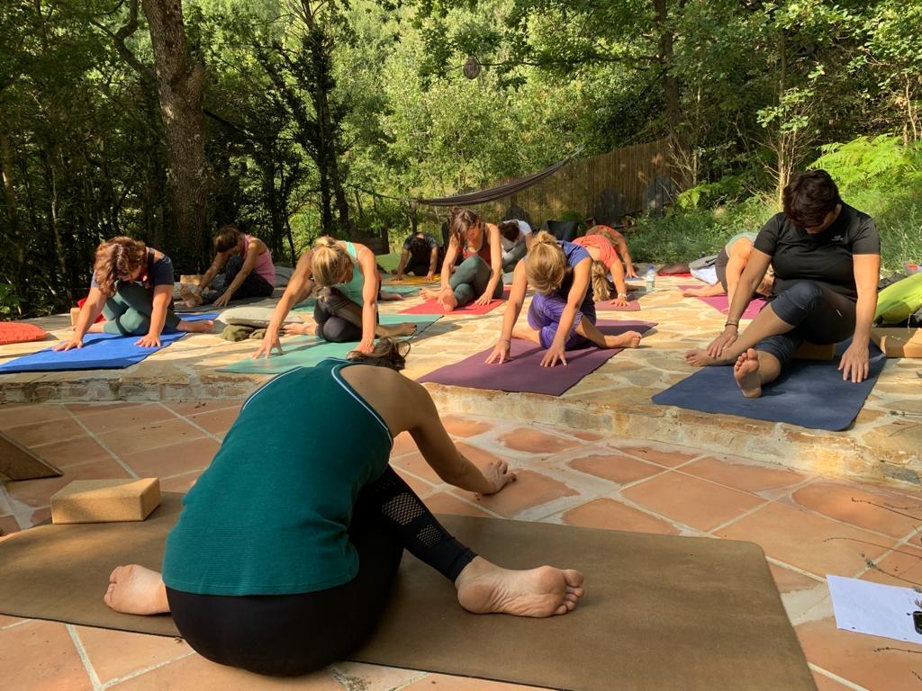 Yin Yang yoga Fanny Ros