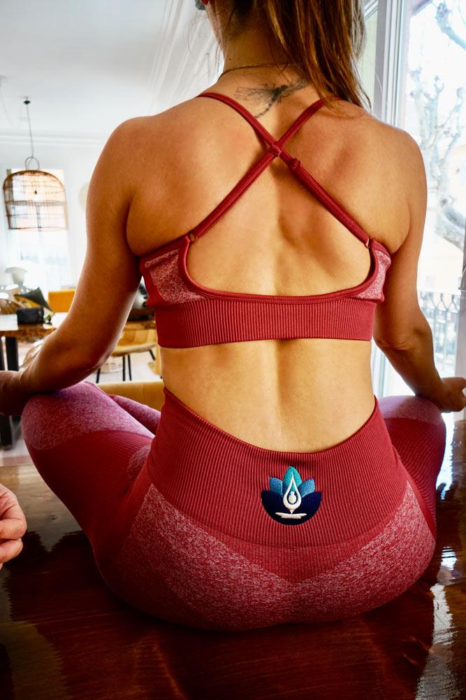ensemble-yoga-rouge-tenue-yoga-perpignan-boutique